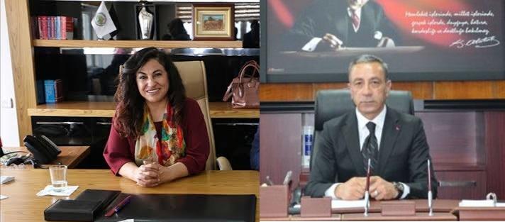 Varto Belediye Eşbaşkanı Ülkü Karaaslan / Bulanık Belediye Başkanı Adnan Topçu